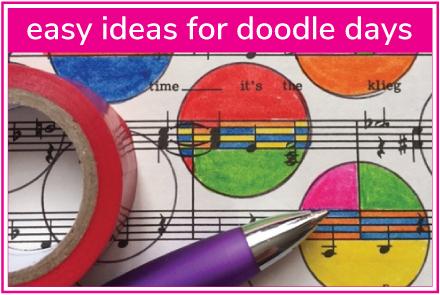 easy doodles for kids